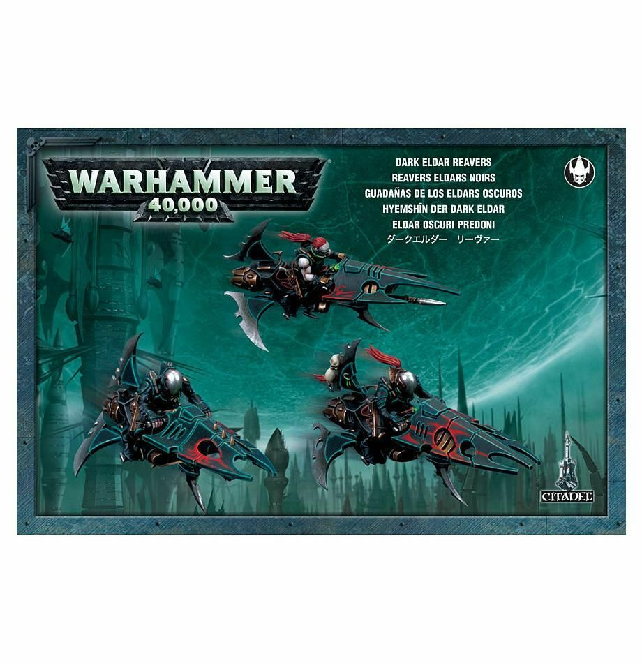 Warhammer 40K Drukhari Reavers plastic New