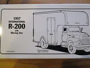 6aa40e5527 First Gear Columbian Storage   Transfer Co 1957 Int l R-200 Moving ...