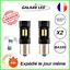 AMPOULE-LED-P21W-BA15S-BLANC-6000K-FEUX-DE-JOUR-RECUL-ANTI-ERREUR-ODB-AUTO-MOTO miniature 1