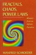 Fractals, Chaos, Power Laws: Minutes from an Infinite Paradise
