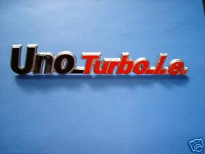 fregio-posteriore-o-sigla-uno-turbo-ie-emblem-rear-new