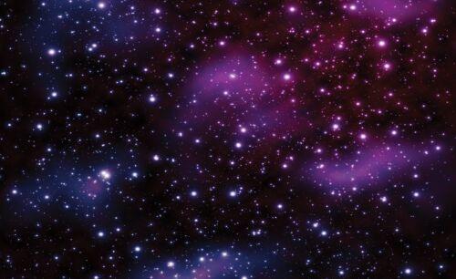 Fond d'écran géant papier 368x254cm ciel étoilé cosmos mur murale chambre à coucher