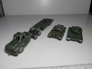 Benbros?? - Morestone?? - Budgie?? Thorneycroft Antar & Centurion Tank + spare