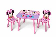 Delta Minnie Mouse Child's Table and Chair Set New