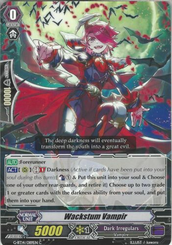 Wackstum Vampir G-BT14//089EN C Common Card Cardfight Vanguard