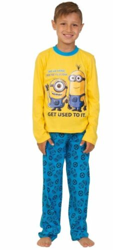 Minion Pjs Minions Pyjamas 4 to 10 Years We/'re Here We/'re Yellow Get Used To It