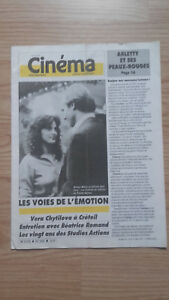 Revista-Semanal-Cinema-Semana-de-La-18A-24-Mars-1987-N-392-Buen-Estado