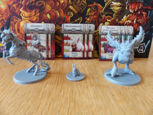 Zombicide: Green Horde: Chromatiz, Abominabunny, The Magenta Covfefe of Aargh