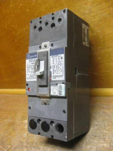 GE SFHA36AT2125C 250A Spectra Series Frame//125A Trip Breaker 600V SRPF250A125