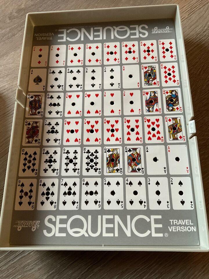 Sequence travel, kortspil