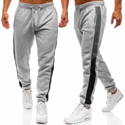 US Men Loose Casual Sport Pants Sweatpant Gym Tracksuit Jogging Joggers Trousers