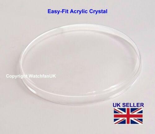 1960s Plexiglas Crystal Fits Pobeda 32mm Case Models 1950s