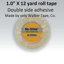 "WALKER TAPE Brand NO SHINE Tape 1.0"" X 12 yard Roll STRONG Bond NEW LABEL"