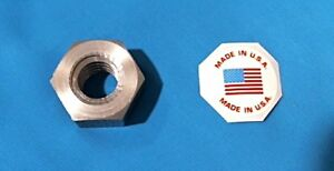 steel 5 pack for acme left hand threaded rod 304050-nut 5//8-8 LH acme hex nut