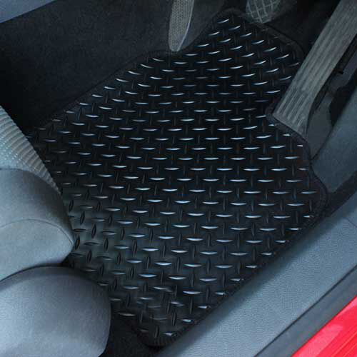 For BMW 3 Series GT F34 Fully Tailored 4 Piece Black Rubber Car Mat Set