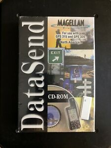 Magellam-DataSend-CD-ROM-Sealed-North-America-Part-990449-For-GPS-315-amp-320