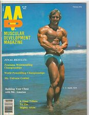 Muscular Development Bodybuilding Fitness Magazine C.F.Smith M.D.w/poster 2-78