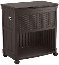 Superbe Item 2 Outdoor Patio Cooler Cabinet Storage Station Rolling Porch Pool Deck  Backyard  Outdoor Patio Cooler Cabinet Storage Station Rolling Porch Pool  Deck ...