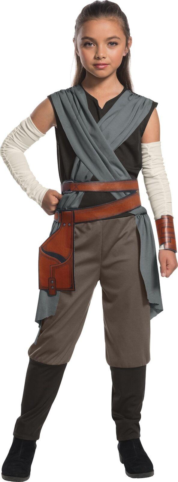 Star Wars The Last Jedi - Rey Child Girls New Costume