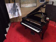 STEINWAY MODEL B GRAND PIANO. PERFECT WITH HAMBURG STYLE POLY FINISH!
