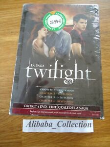 Nuevo-Estuche-Lote-DVD-Twilight-Saga-1-2-3-4-Faszination-Temptation-Piezas