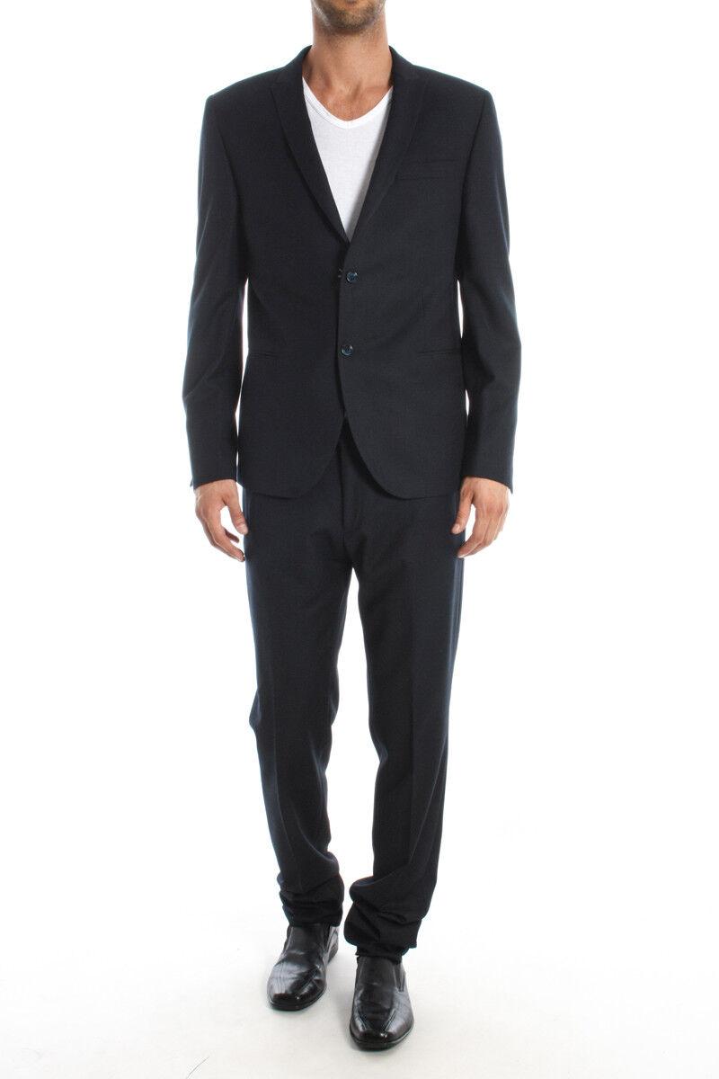Abito Daniele Alessandrini Suit men blue G2090S1711 P2991S1711 23
