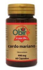 Milk Thistle 400mg Obire Cardo Mariano (Silybum Marianum)  60caps. Ostropest !