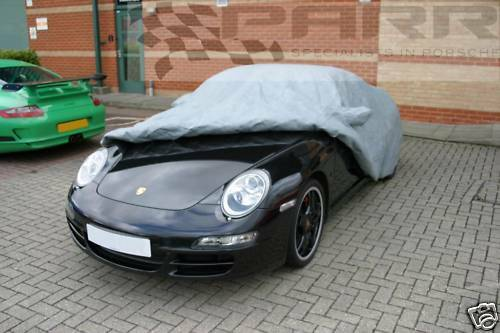 Porsche 993 fixed spoiler Stormforce Outdoor Car Cover Fitted