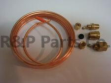 """Oil Pressure Gauge Copper Tubing Line Kit 1/8"""" x 6' for Massey Ferguson Harris"""
