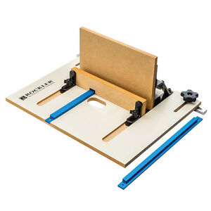 Rockler xl router table box joint jig ebay image is loading rockler xl router table box joint jig greentooth Images
