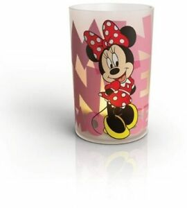 Candela Luce Notturna Led PHILIPS DISNEY USB Minnie Mouse