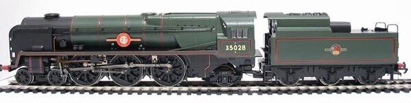 Hornby R2169 4-6-2 MN Clan Line 35028 BR Grün Late Crest MINT BOXED