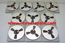 """1X CINTA BASF METAL REEL + CAJA DE PROTECION BASF 7"""" (18 cm)  METAL REEL TO REEL"""