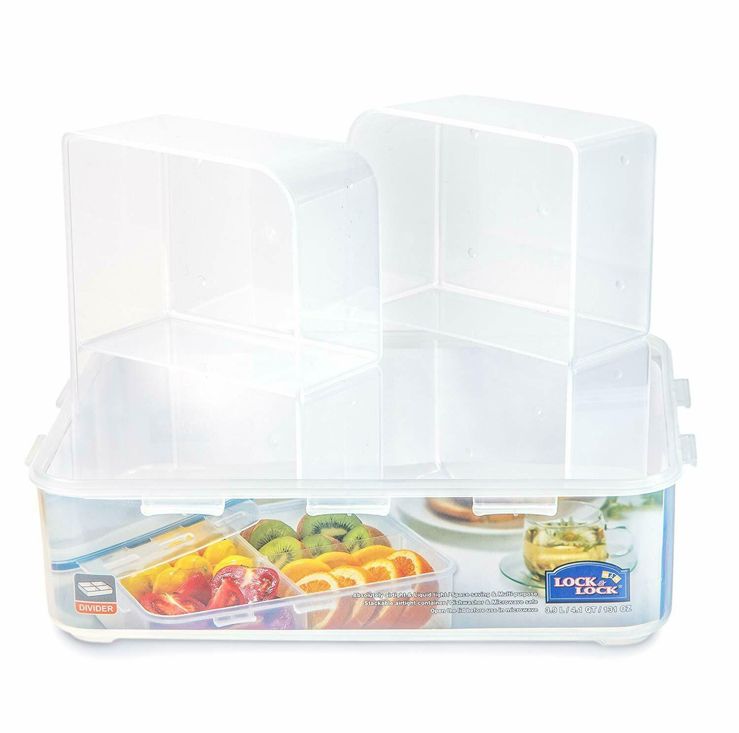 LOCK & LOCK Airtight Food Storage Container Microwave Safe in variety of  Size