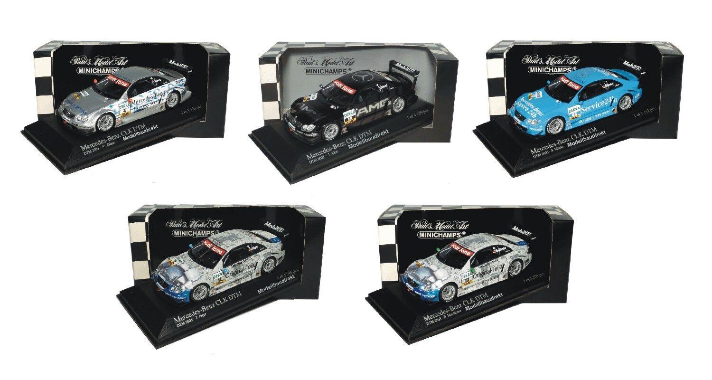 MERCEDES CLK Coupe DTM viaggi auto 2003 1:43 Minichamps per la selezione Nuovo & OVP