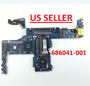 Details about 686041-001 Motherboard for Hp Elitebook 8470P, Intel SLJ8A +  AMD GPU, US Loc A