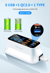 40W-Led-Display-Mobile-Phone-Fast-QC-3-0-8-port-5v-3a-Adapter-Multi-USB-Charger