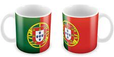 PORTUGAL Flag Mug Gift Idea for Christmas Holiday Cup 072