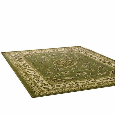 Sherborne Rug - Green - Classic Pattern - Traditional Design
