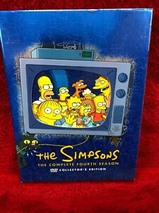 THE-SIMPSONS-COMPLETE-THE-FORTH-SEASON-2004-4-DVD-SET-WITH-INSERT