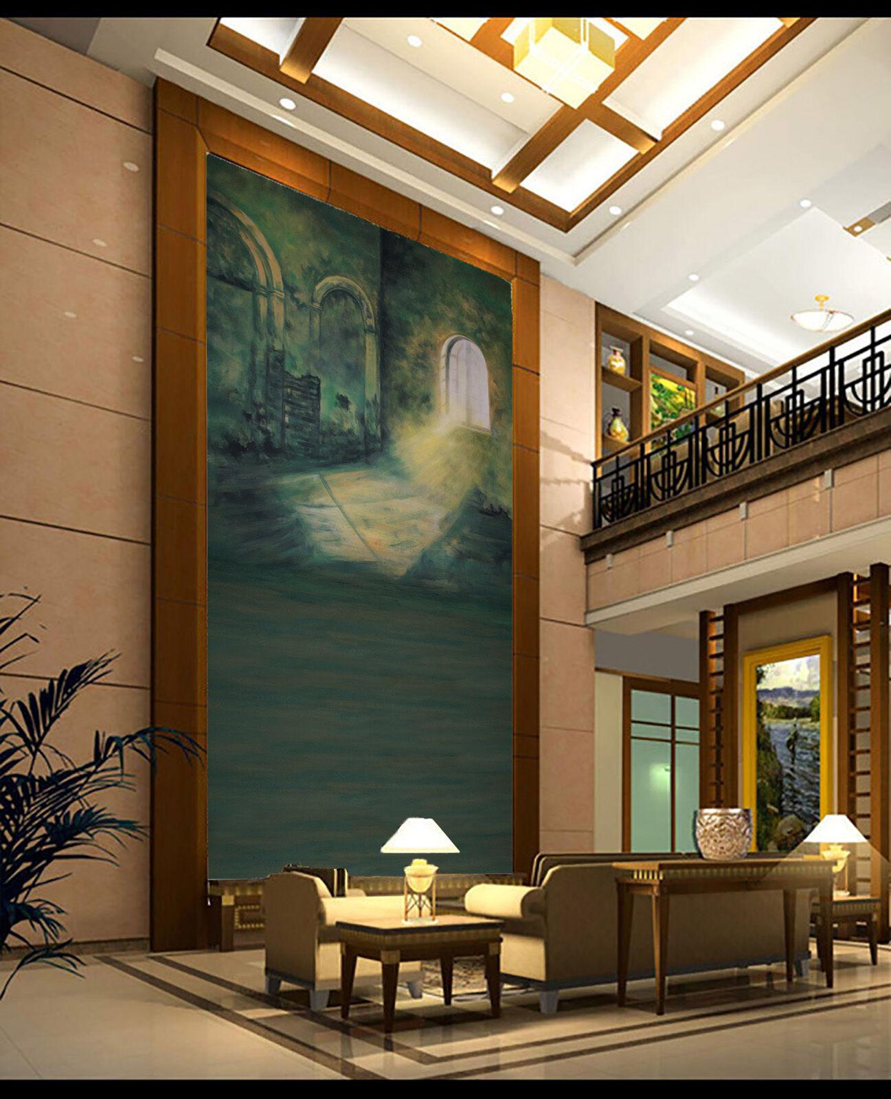 3D Ein sonnenstrahl  69798 Fototapeten Wandbild Fototapete BildTapete Familie DE