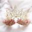 Bridal-Princess-Party-Crystal-Tiara-Wedding-Crown-Veil-Hair-Accessory-Headband thumbnail 11