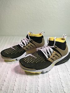 007 oro Muestra Nike 9 amarillo Tama Nuevo 835570 Air o Negro Presto Flyknit 887229563536 Hombres Ultra wYqr6AFYx4
