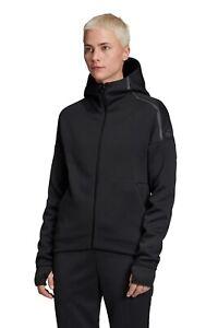 Adidas Athletic ZNE Fast Release Hoody Lauf Sport Jacke Storm Zip Jacket blk XXL