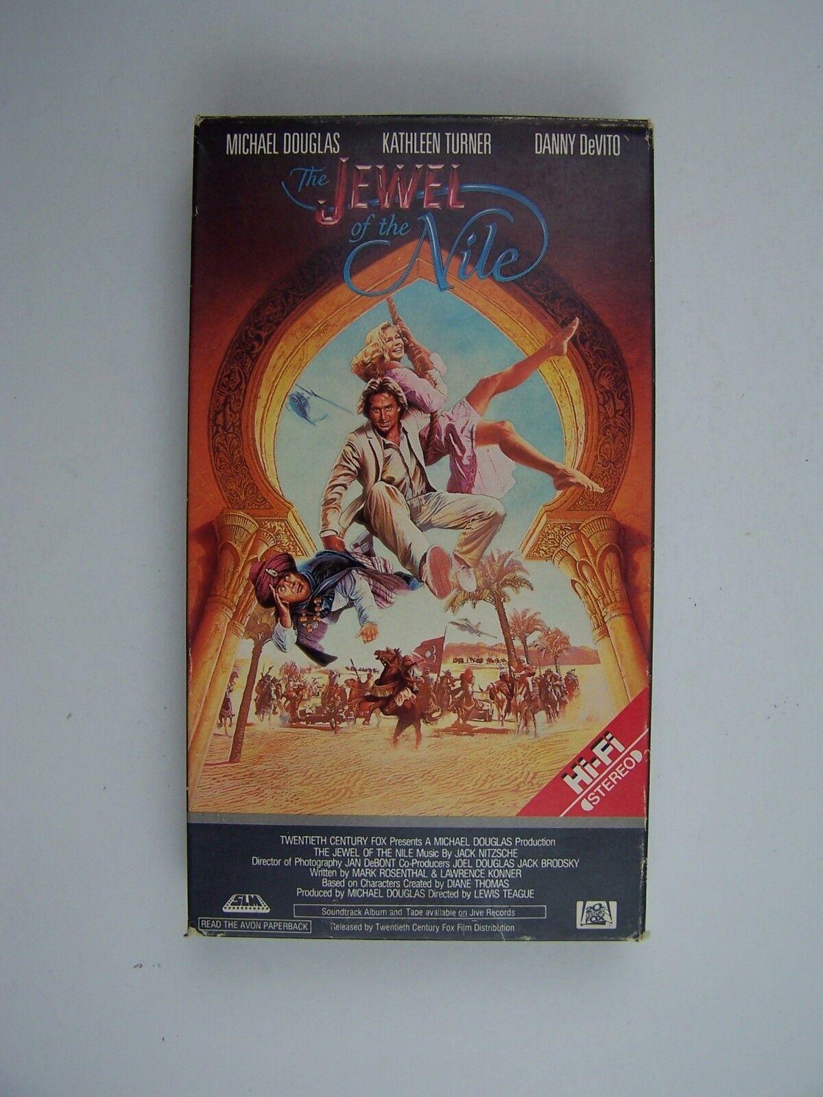 Jewel of the Nile VHS Michael Douglas, Kathleen Turner,