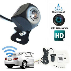 HD150-WiFi-Wireless-Auto-Rueckfahrkamera-Reverse-Camera-Nachtsicht-WasserdichtFB