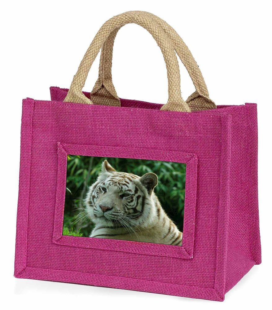 Fiable Siberian White Tiger Little Girls Small Pink Shopping Bag Christmas Gi, At-50bmp Pour Classer En Premier Parmi Les Produits Similaires