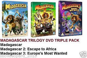 Madagascar 4 Movie Collection Madagascar 1 2 3 Penguins Of