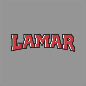 Lamar-Cardinals-4-NCAA-College-Vinyl-Sticker-Decal-Car-Window-Wall