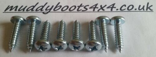 Land Rover Defender Front Grille Zinc coated screws  90 110Td5 200Tdi 300Tdi